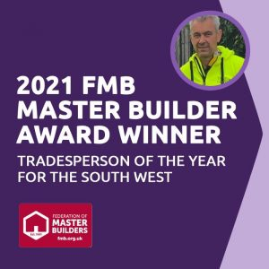 FMB Tradesperson of the year South West winner